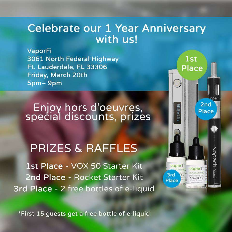 Fort Lauderdale Peeps: Come Celebrate our 1 Year Anniversary!