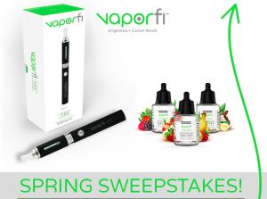 VaporFi Spring Giveaway!