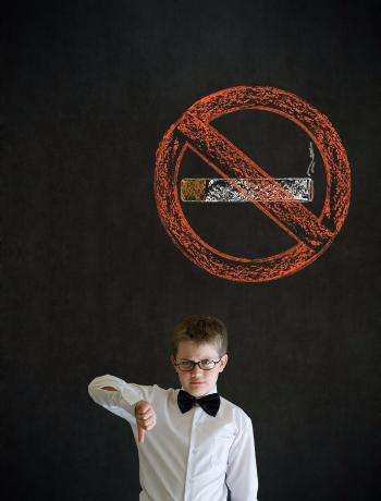 thumbs-down-boy-business-man-with-no-smoking-chalk-sign