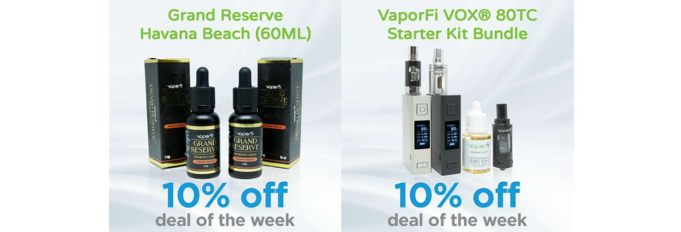 The VAIO 80 TC Starter Kit Bundle + Havana Beach E-Juice is Our Deal of the Week X2