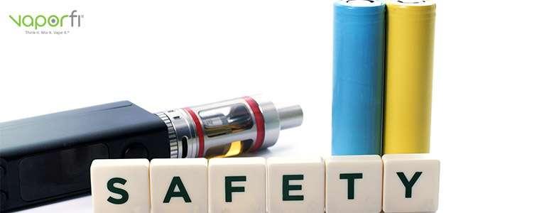 Adhering to Battery Safety While Vaping - VaporFi
