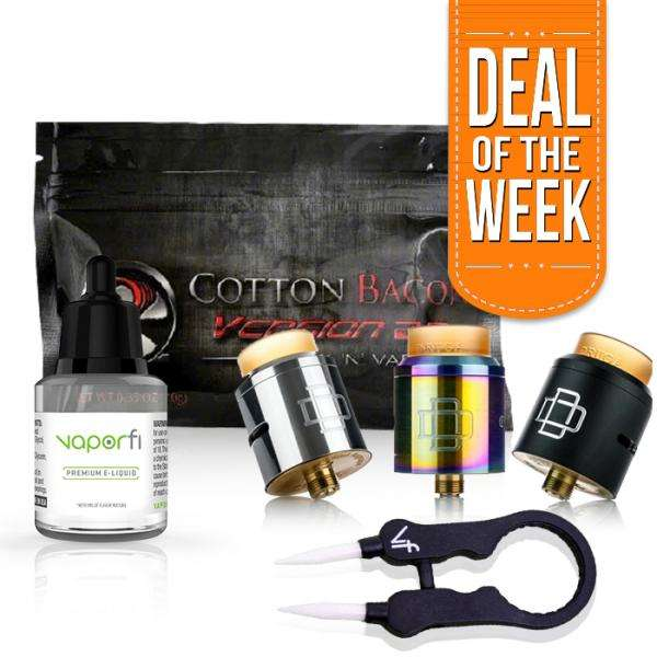 Deal of the Week Druga RDA BUndle - VaporFi