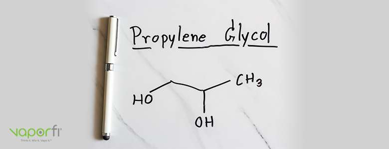 What is PG, or propylene glycol, in vape juice?