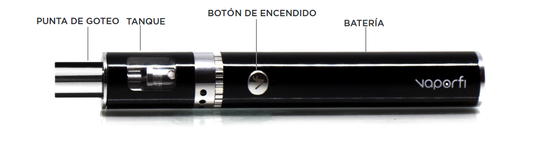 VaporFi Rocket 3 Starter Kit Device Espanol