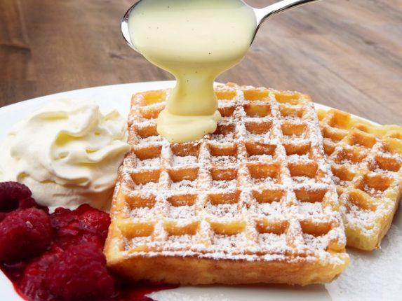 Delicious Waffles N Cream Flavor