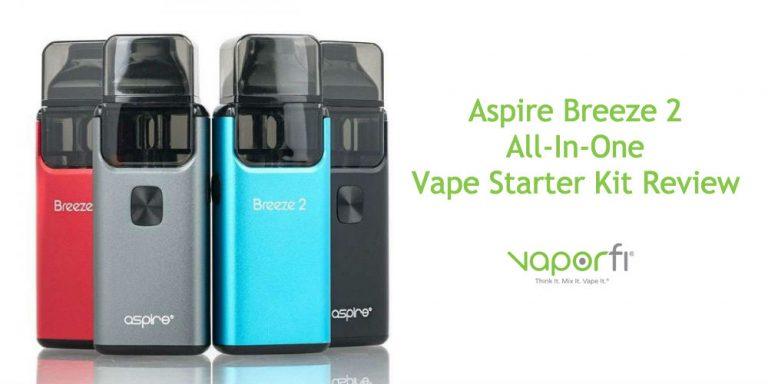 Aspire Breeze 2 AIO Vape Starter Kit Review