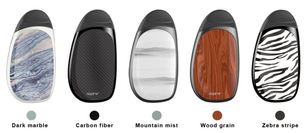 Aspire Cobble AIO Kit Color Selection