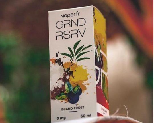 GRND RSRV Island Frost E-Juice