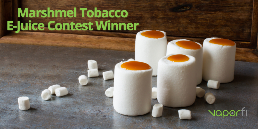 Unwind in Style With This Month's Contest Winner, Marshmel Tobacco!