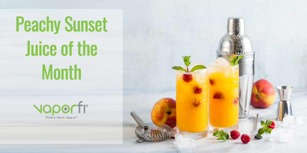 Sail Away with Our Juice of the Month: Peachy Sunset!