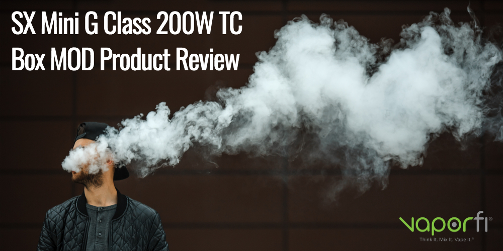 SX Mini G Class 200W TC Box MOD Product Review