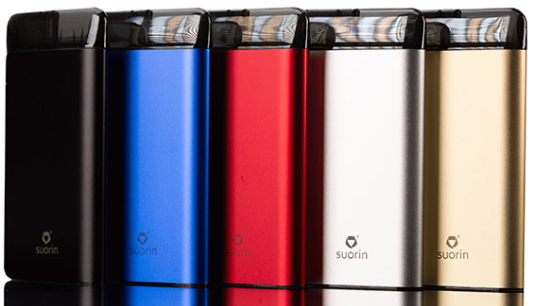 Suorin Air Plus Vape Pod System is great for nic salts