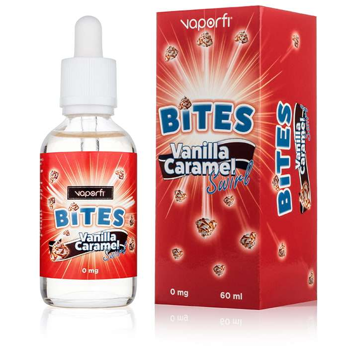 Premium Essence Flavour Import ... Source · VaporFi Bites Vanilla Caramel Swirl Vape Juice