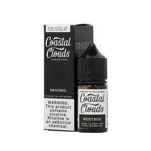 Menthol Nic Salt by Coastal Clouds - (30 mL)