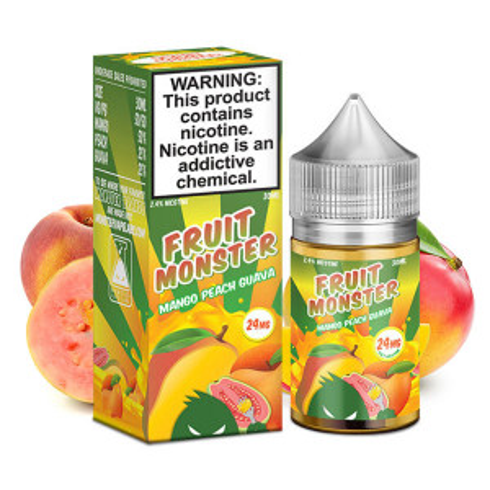 Mango Peach Guava Salt E-Liquid by Fruit Monster (30mL)