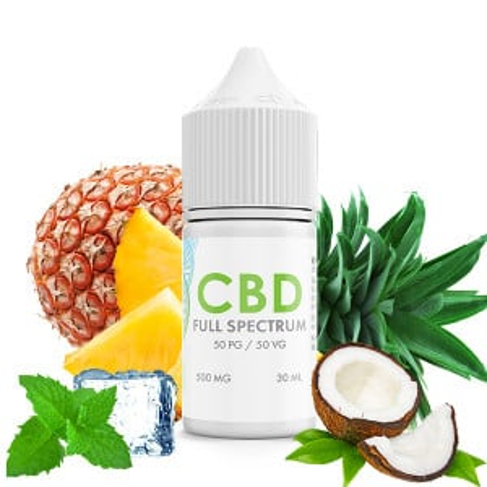Fruit Menthol CBD E-Liquid Blend