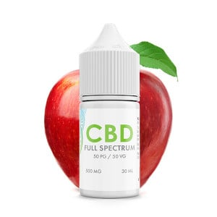 Juicy Red Apple CBD E-Liquid Blend