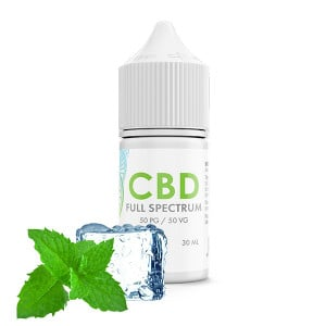 Menthol Freeze CBD E-Liquid Blend