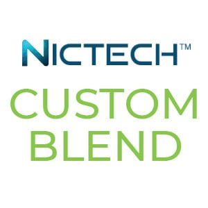 NicTech Non Tobacco Nicotine Custom Blend E-liquids