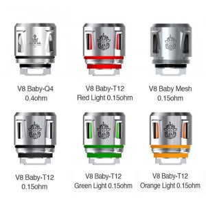 SMOK TFV12 Baby Prince Replacement Vape Coils (5-Pack)
