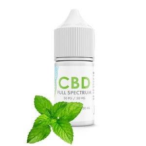 Fresh Mint CBD E-Liquid Blend