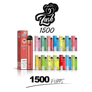 Lush 1500 Puffs Disposable Vape Pen - (1 Pack)