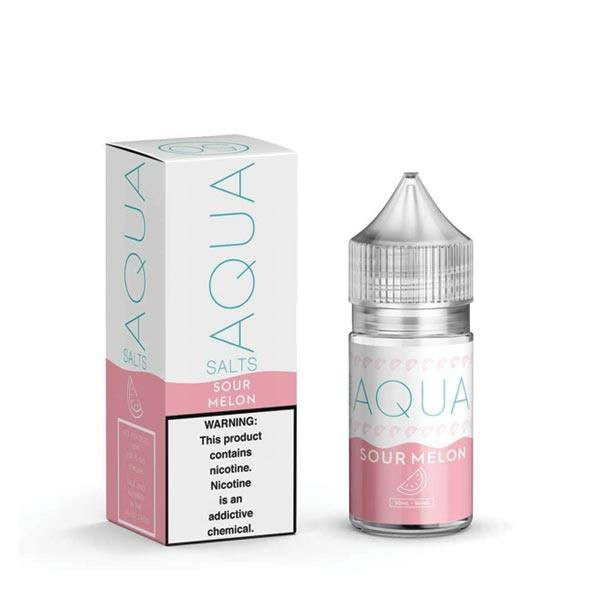 Aqua Sour Melons Nicotine Salt E-Liquid (30mL)