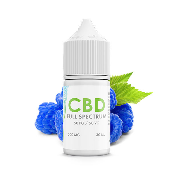 Blue Razzle Berry CBD E-Liquid Blend