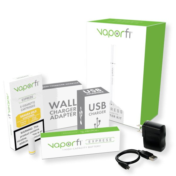 VaporFi Express Sahara Gold E Cigarette Kit