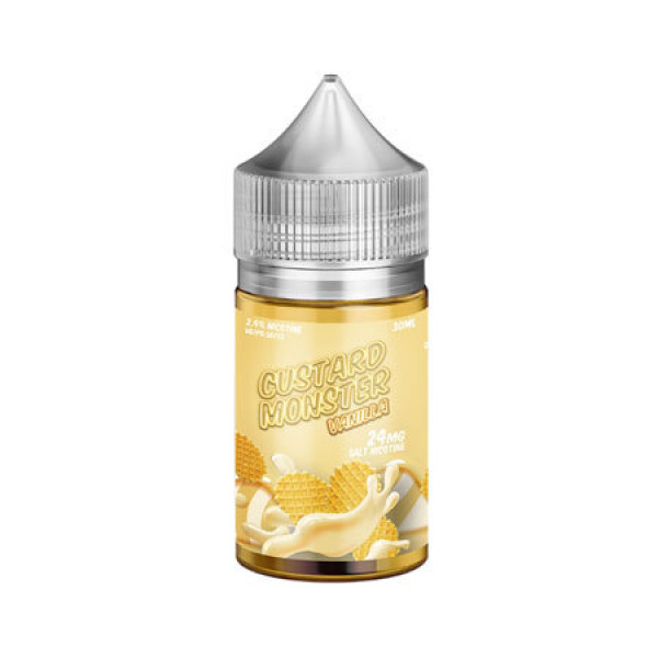 Vanilla Custard Nic Salts by Monster E-liquids - (30mL)