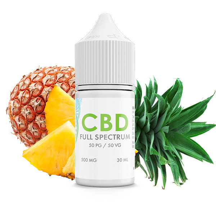 Island Pineapple CBD| E-Liquid Blend