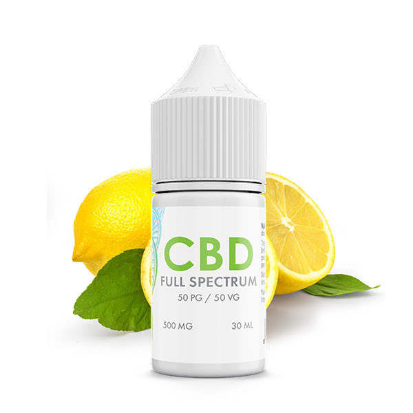 Lemon Zest CBD E-Liquid Blend