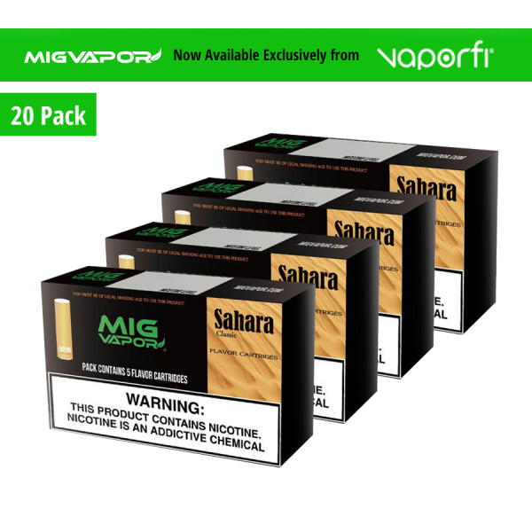 Mig Vapor Sahara - 20 Pack