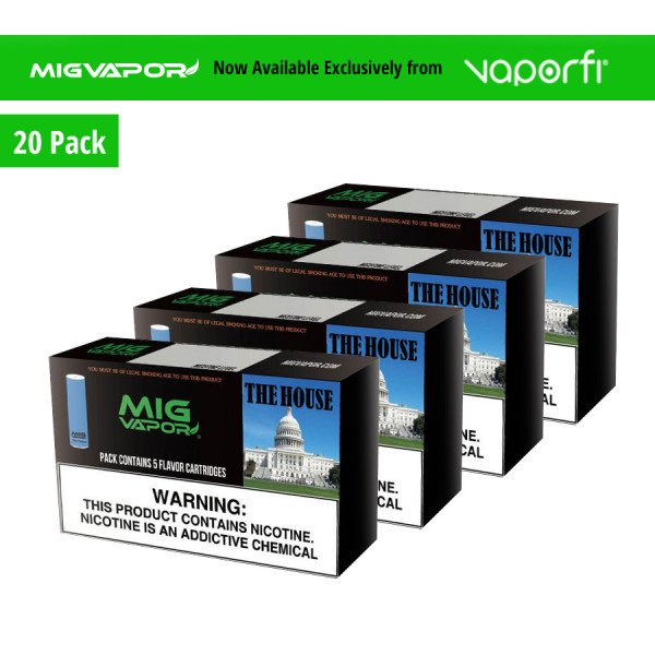 Mig Vapor The House - 20 Pack