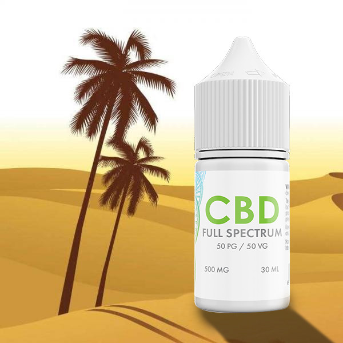 Sahara Gold Tobacco CBD E-Liquid Blend