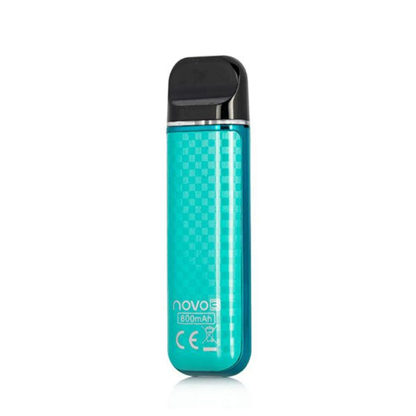 Smok Novo 3 Pod Starter Kit _Tiffany Blue Carbon Fiber