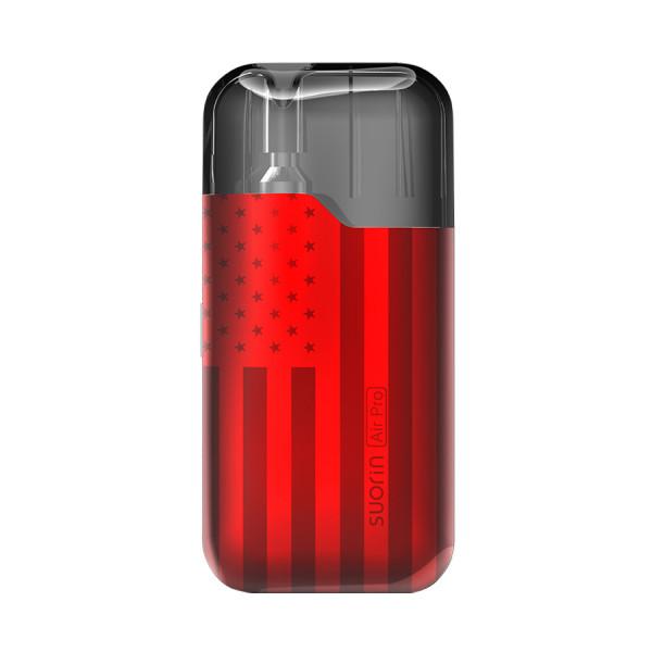 Suorin Air Pro Vape Pod Starter Kit_Spangled_Red