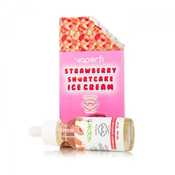 VaporFi Strawberry Shortcake Ice Cream Crafted by Cosmic Fog