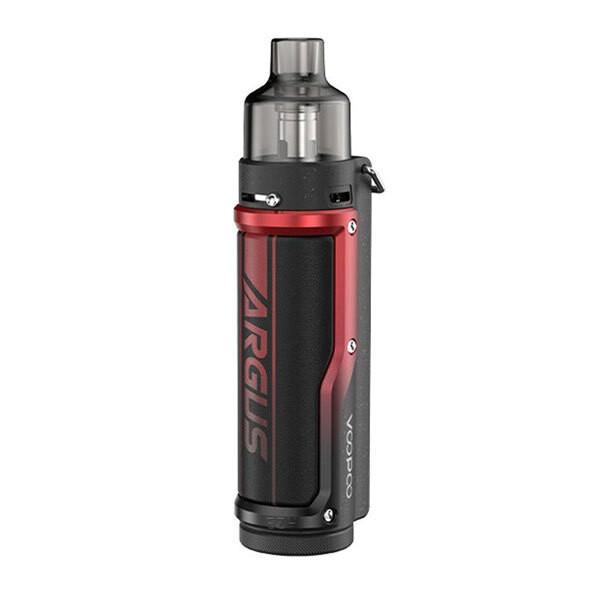 VooPoo Argus Pro 80W Pod Mod Starter Kit_Litchi Leather/Red