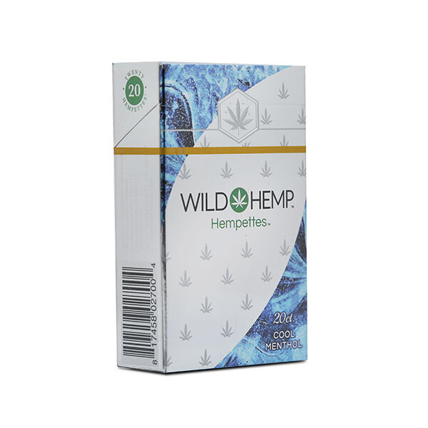 Wild Hemp Hemperettes - 1 Pack_Cool Menthol