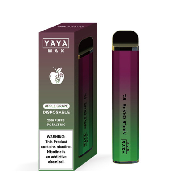 YAYA MAX Disposable Vape Pen_Apple_Grape