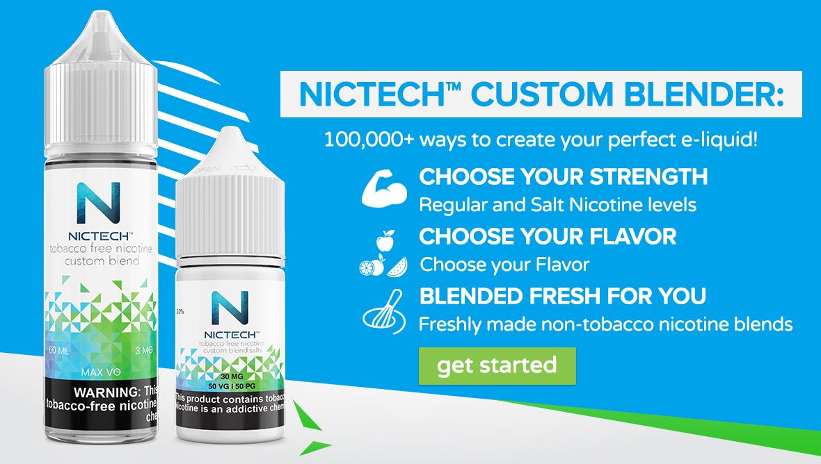 Nictech custom blend